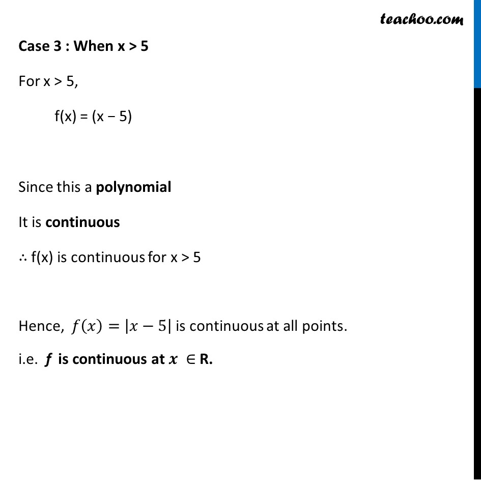 Ex 5.1 ,3 - Chapter 5 Class 12 Continuity and Differentiability - Part 11