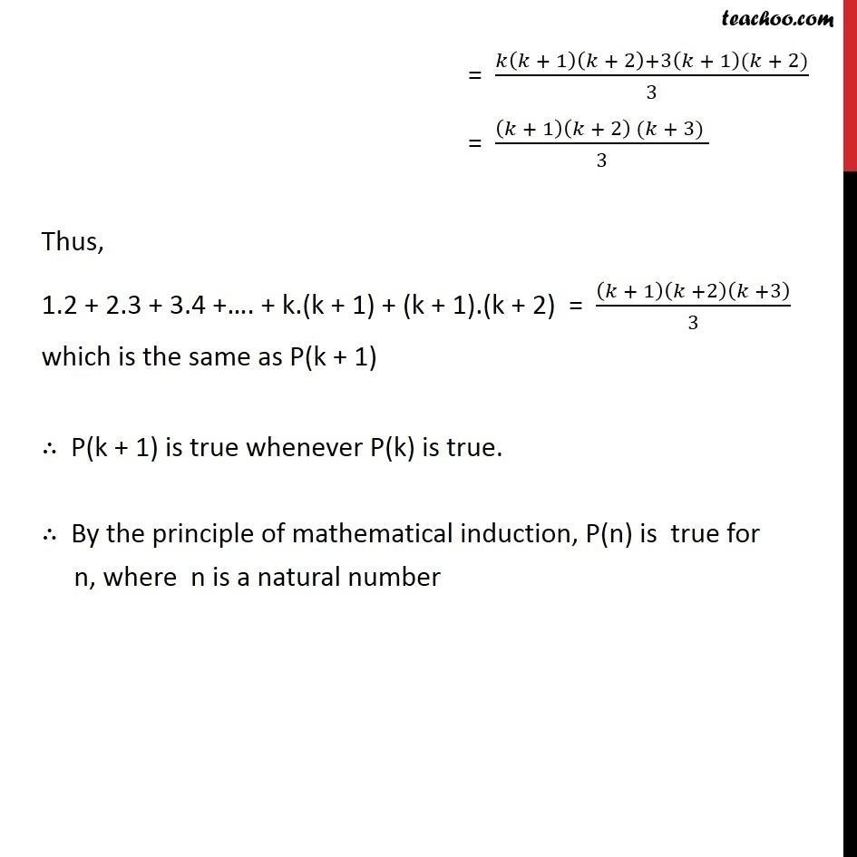Ex 4.1, 6 - Chapter 4 Class 11 Mathematical Induction - Part 3