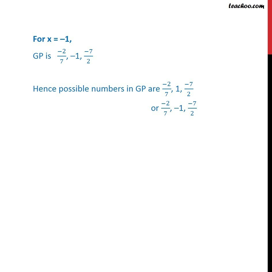 Ex 9.3, 6 - Chapter 9 Class 11 Sequences and Series - Part 3