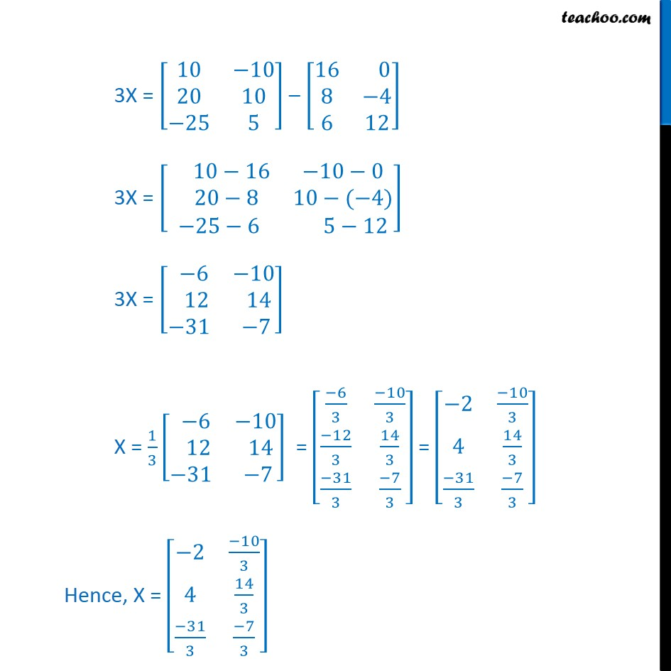 Example 8 - Chapter 3 Class 12 Matrices - Part 2