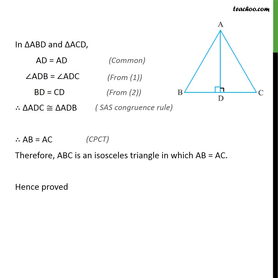 Ex 7.2, 2 - Chapter 7 Class 9 Triangles - Part 2