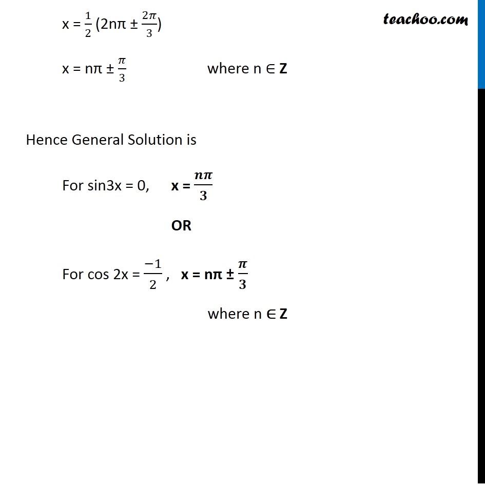 Ex 3.4, 9 - Chapter 3 Class 11 Trigonometric Functions - Part 5