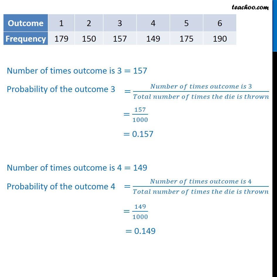 Example 3 - Chapter 15 Class 9 Probability - Part 2