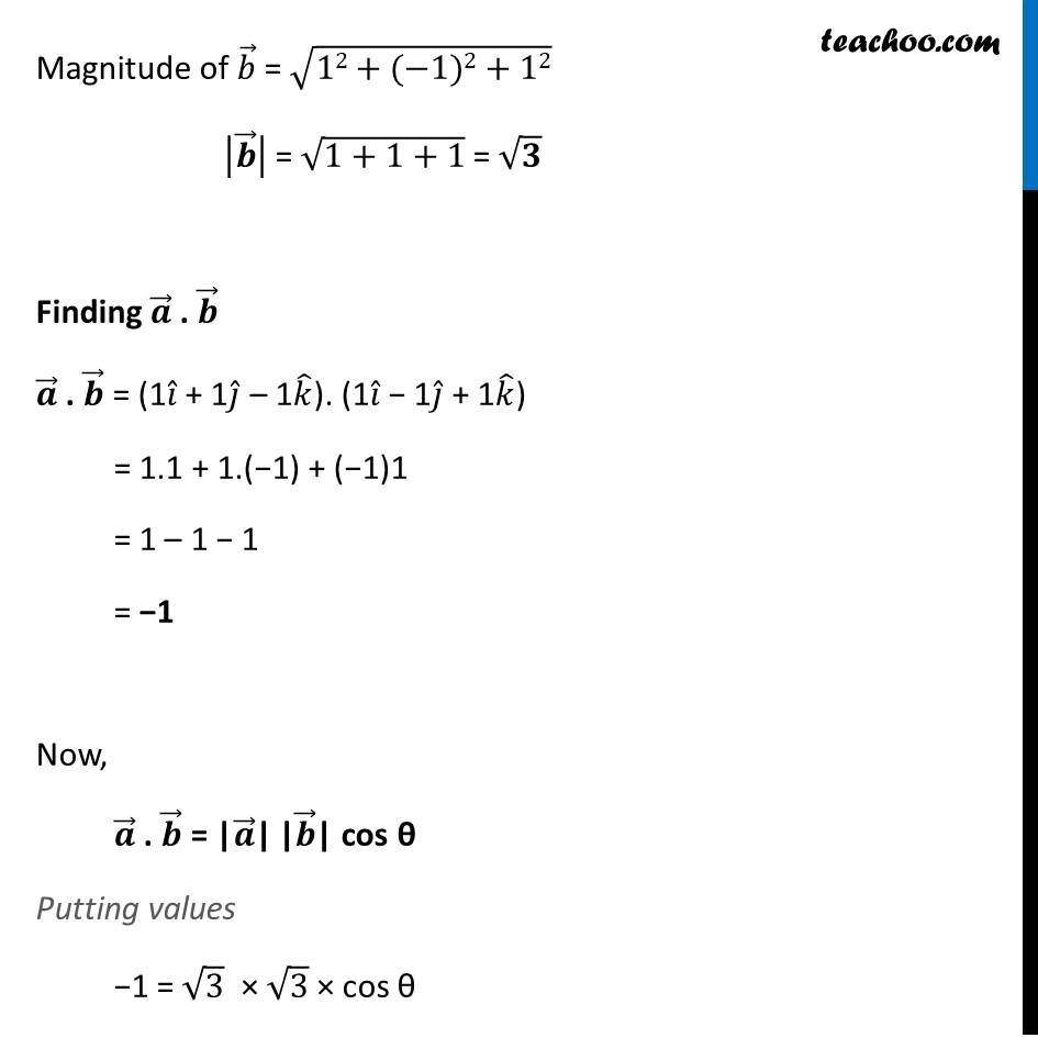 Example 14 - Chapter 10 Class 12 Vector Algebra - Part 2