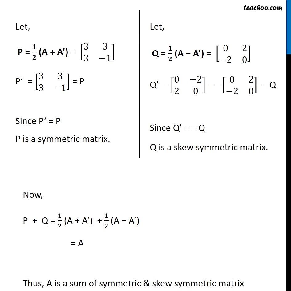 Ex 3.3, 10 - Chapter 3 Class 12 Matrices - Part 2