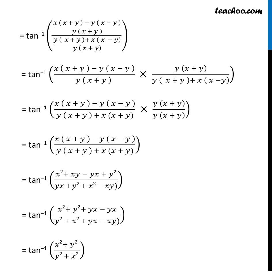 Misc. 17 - Chapter 2 Class 12 Inverse Trigonometric Functions - Part 2