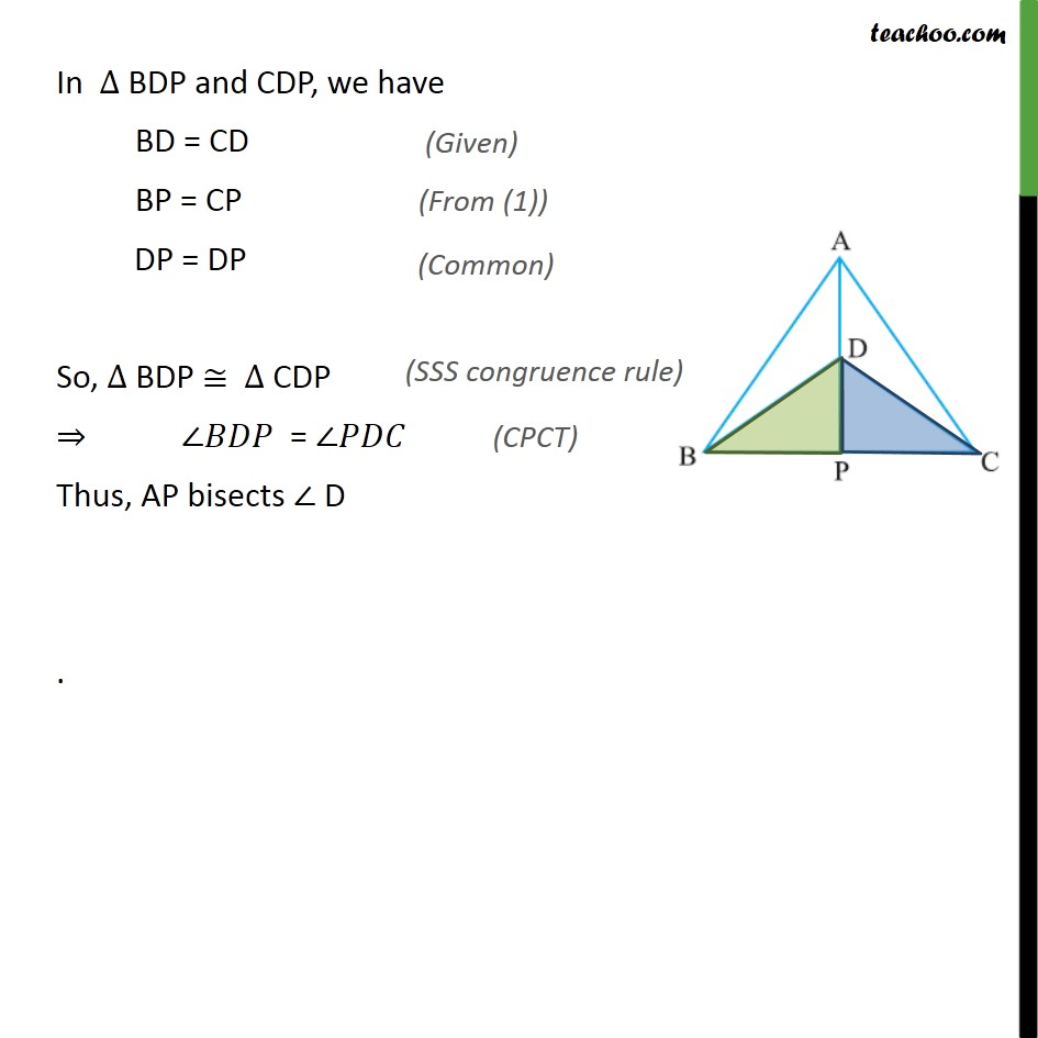 Ex 7.3, 1 - Chapter 7 Class 9 Triangles - Part 5