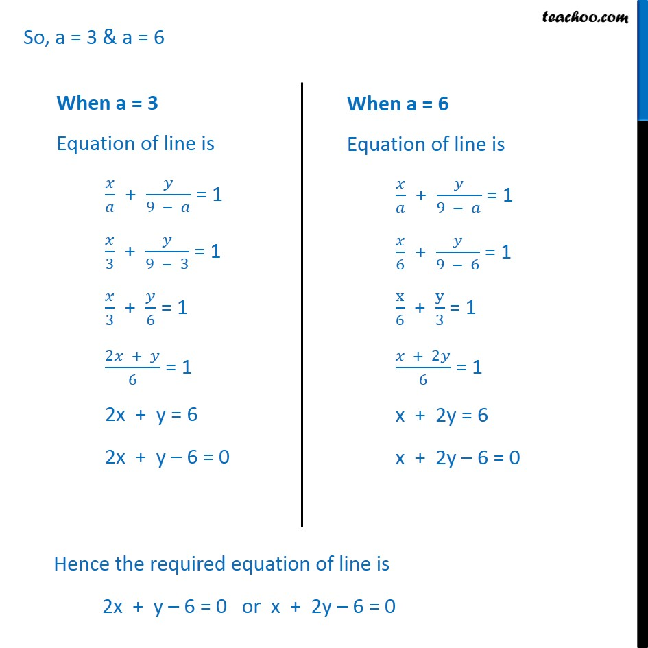 Ex 10.2, 13 - Chapter 10 Class 11 Straight Lines - Part 3
