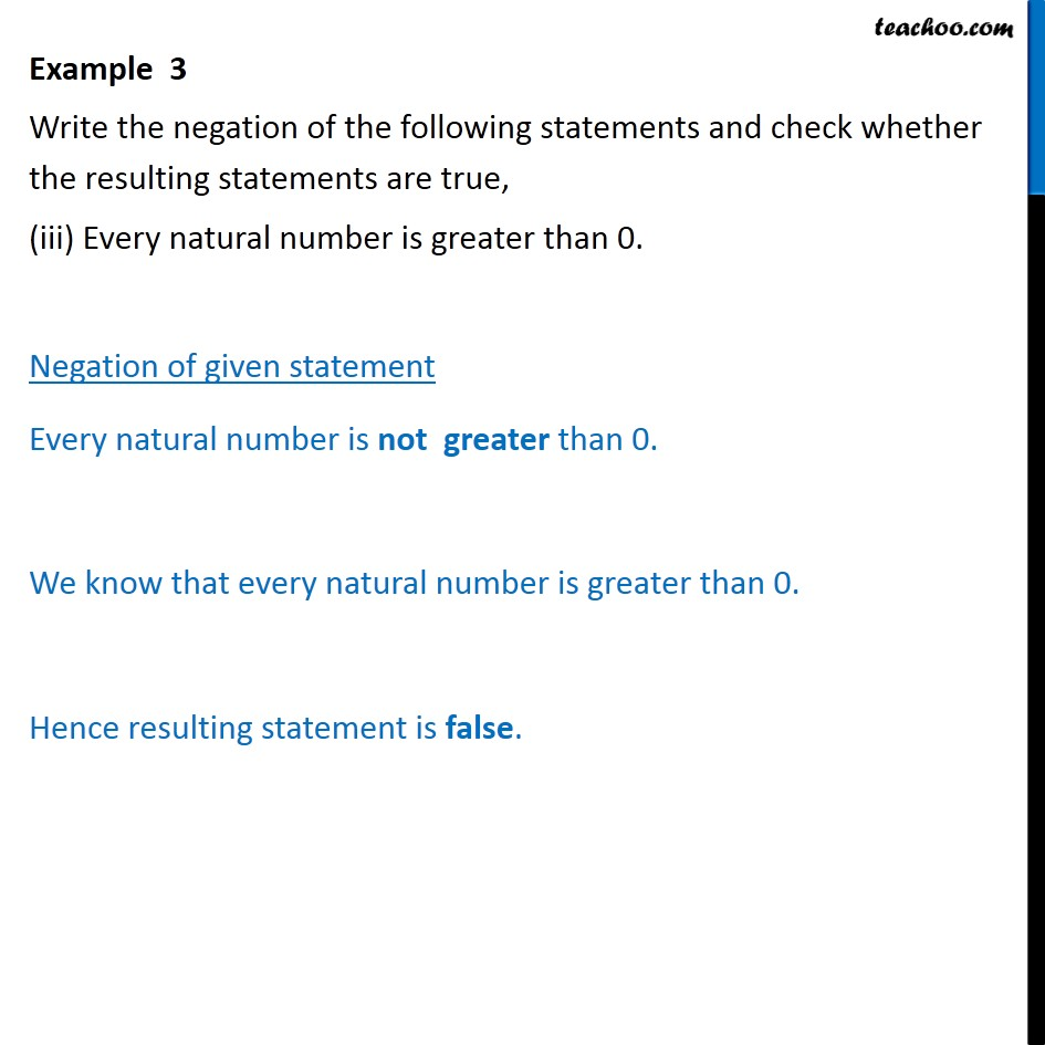 Example  3   - Chapter 14 Class 11 Mathematical Reasoning - Part 3