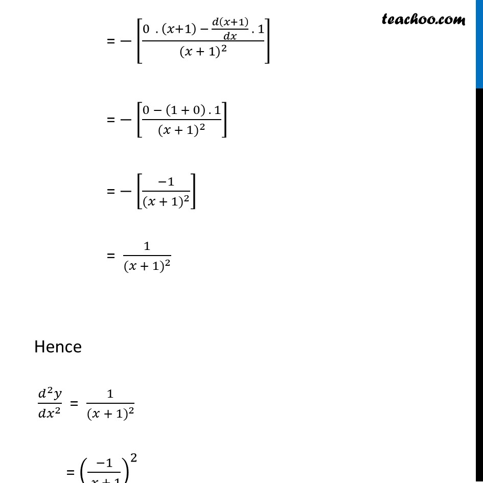 Ex 5.7, 16 - Chapter 5 Class 12 Continuity and Differentiability - Part 4