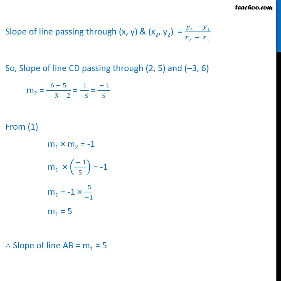 Ex 10.2, 10 - Chapter 10 Class 11 Straight Lines - Part 2
