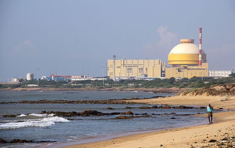 Kudankulam Nuclear Power Plant in Koodankulam, Tamil Nadu.jpg