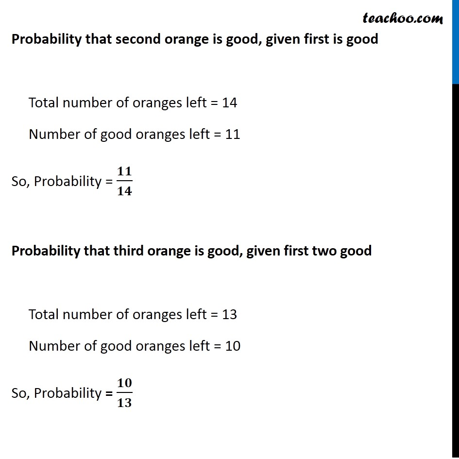 Ex 13.2, 3 - Chapter 13 Class 12 Probability - Part 3