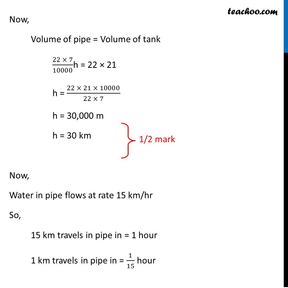 Question 21 (Or 1st) - CBSE Class 10 Sample Paper for 2019 Boards - Part 4