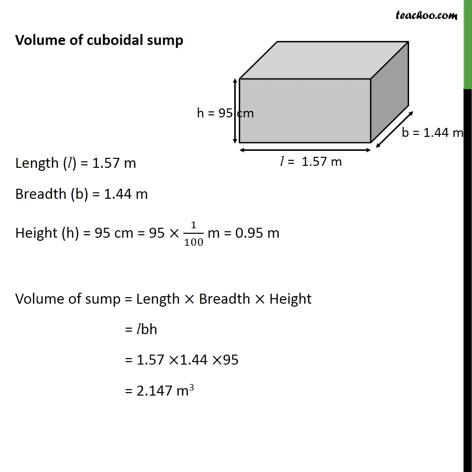 Example 9 - Chapter 13 Class 10 Surface Areas and Volumes - Part 2