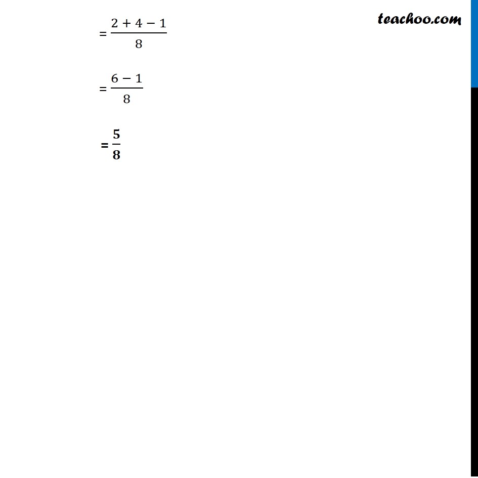 Ex 16.3, 15 - Chapter 16 Class 11 Probability - Part 2
