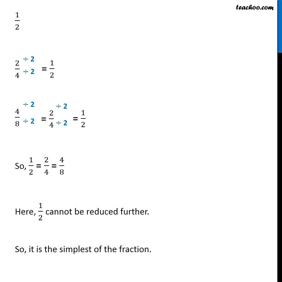 equivalent fractions - definition and examples - teachoo