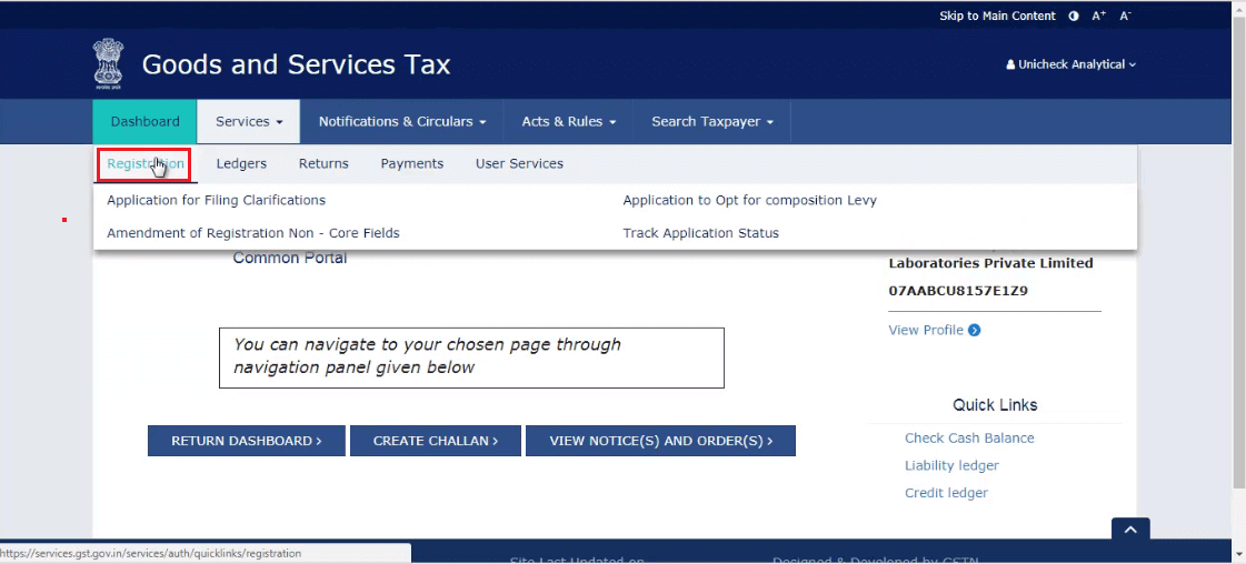 How To Opt For Composition Scheme In Gst From Portal Gst Return Fo