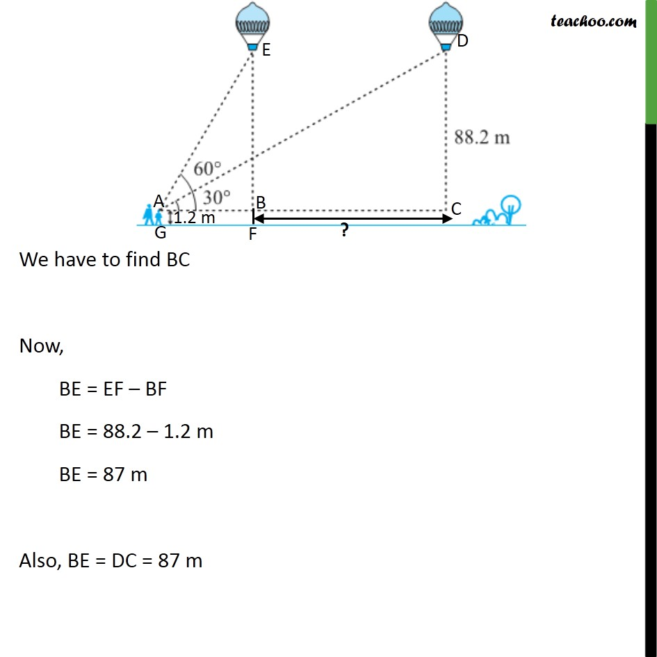 Ex 9.1, 14 - Chapter 9 Class 10 Some Applications of Trigonometry - Part 3