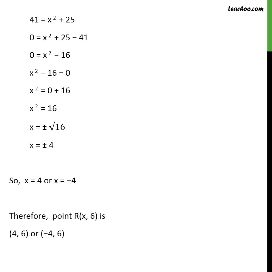 Ex 7.1, 9 - Chapter 7 Class 10 Coordinate Geometry - Part 3