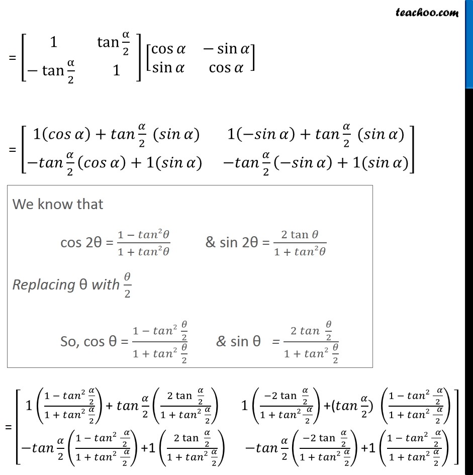 Ex 3.2, 18 - Chapter 3 Class 12 Matrices - Part 3
