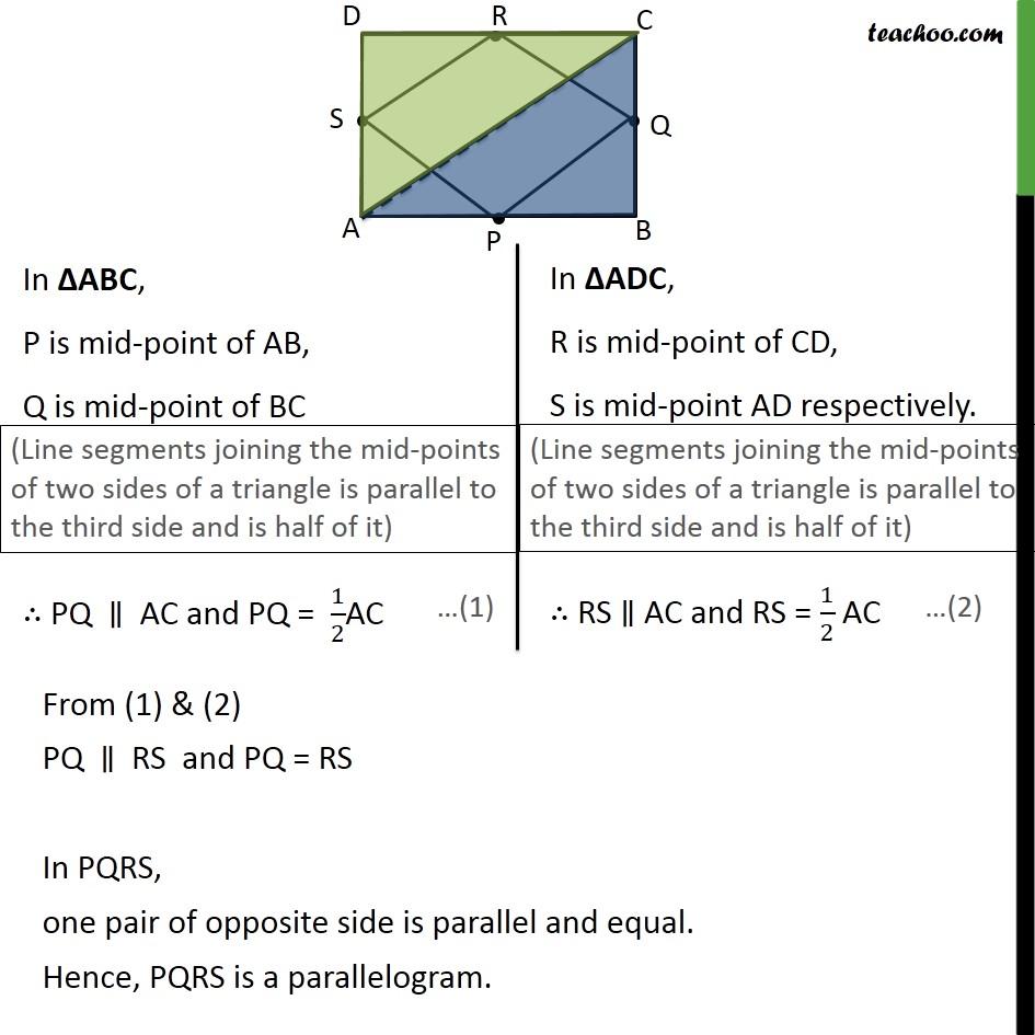 Ex 8.2, 3 - Chapter 8 Class 9 Quadrilaterals - Part 2