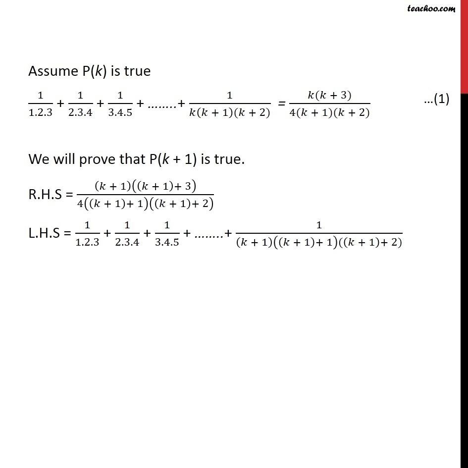 Ex 4.1, 11 - Chapter 4 Class 11 Mathematical Induction - Part 2