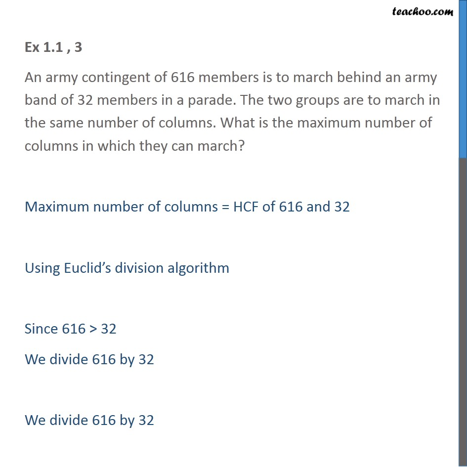Ex 1.1, 3 - Chapter 1 Class 10 Real Numbers - Part 2
