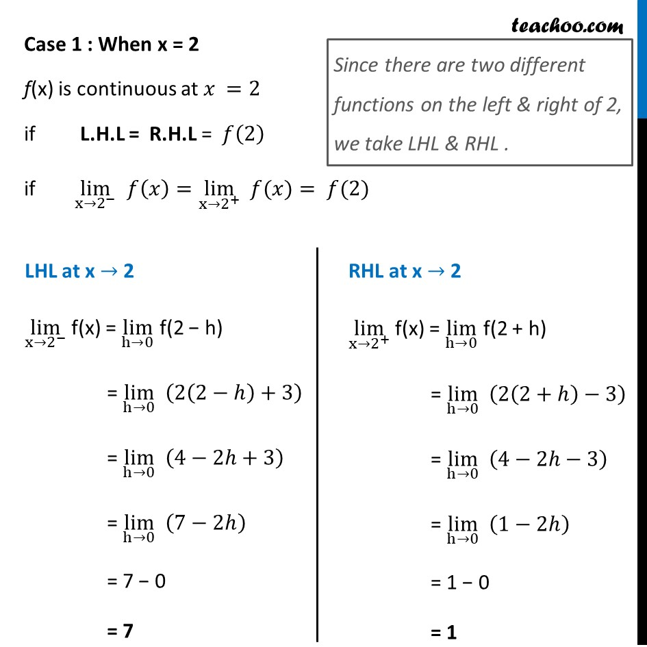 Ex 5.1 ,6 - Chapter 5 Class 12 Continuity and Differentiability - Part 2