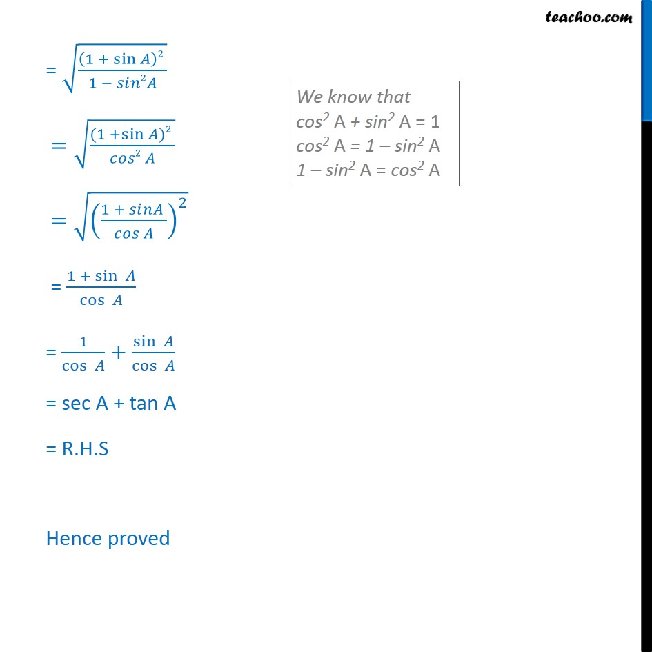 Ex 8.4, 5 (vi) - Chapter 8 Class 10 Introduction to Trignometry - Slide 2