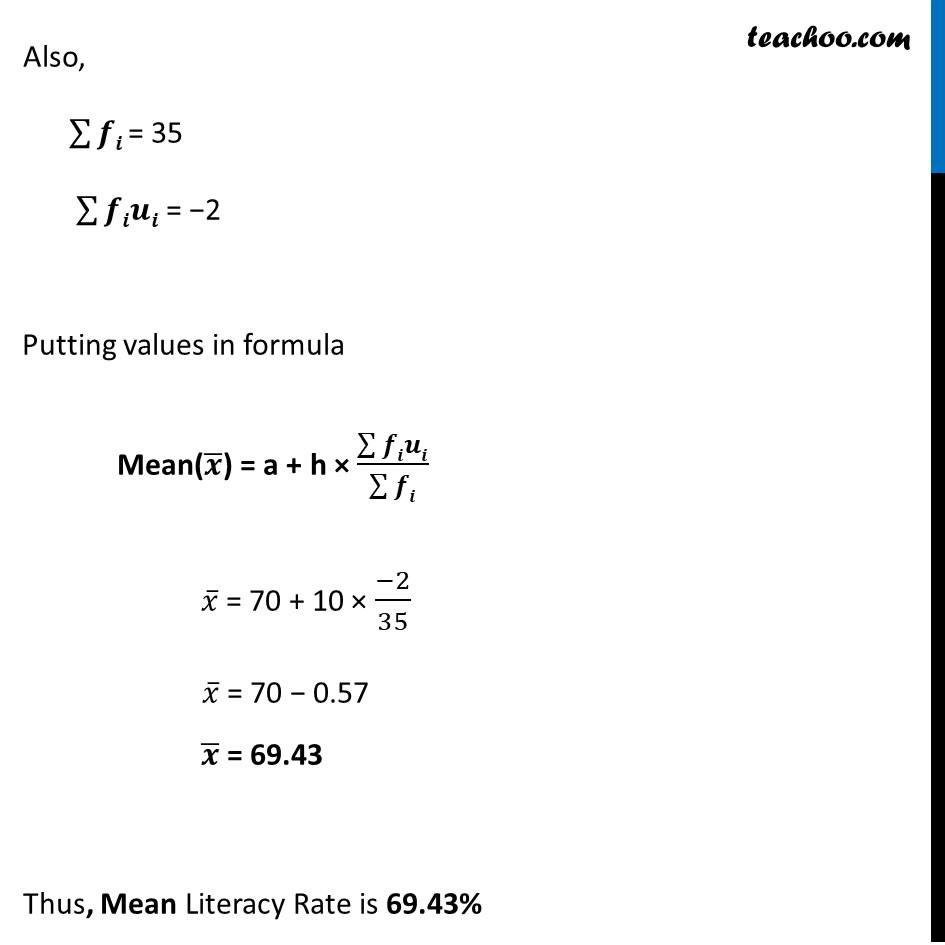 Ex 14.1, 9 - Chapter 14 Class 10 Statistics - Part 3
