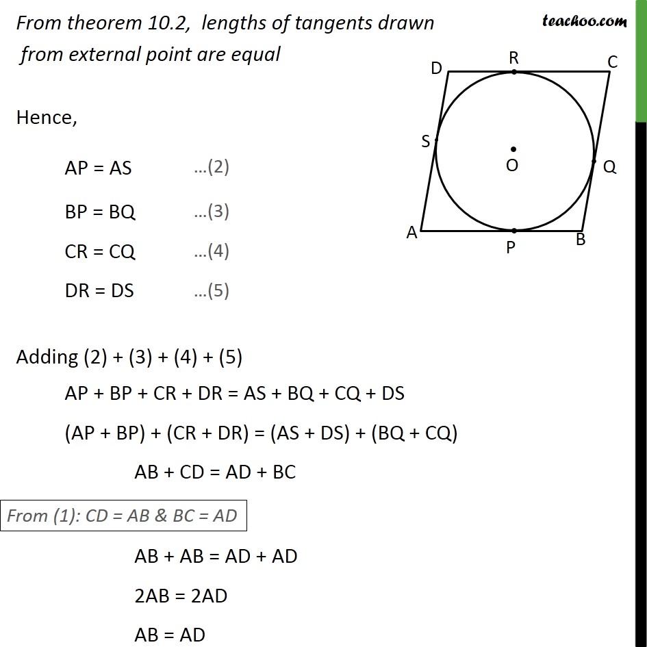 Ex 10.2, 11 - Chapter 10 Class 10 Circles - Part 2