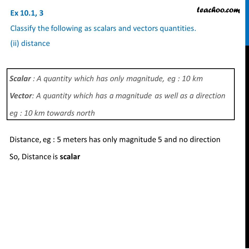 Ex 10.1, 3 - Chapter 10 Class 12 Vector Algebra - Part 2