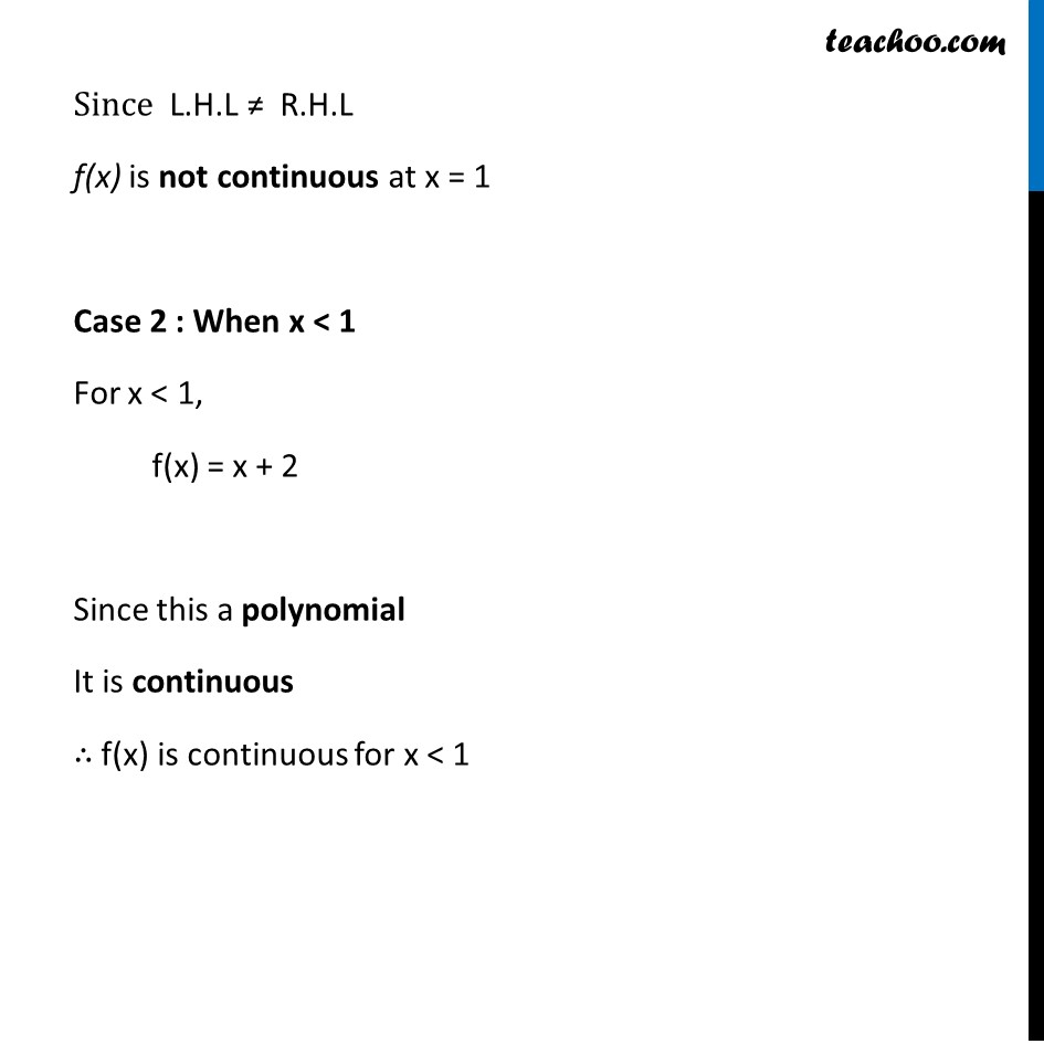 Example 10 - Chapter 5 Class 12 Continuity and Differentiability - Part 3