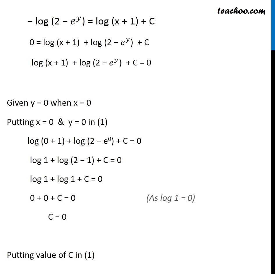 Misc 14 - Chapter 9 Class 12 Differential Equations - Part 3