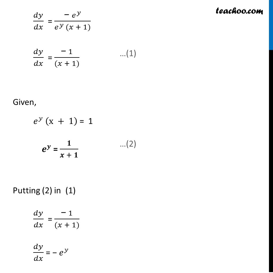 Ex 5.7, 16 - Chapter 5 Class 12 Continuity and Differentiability - Part 8