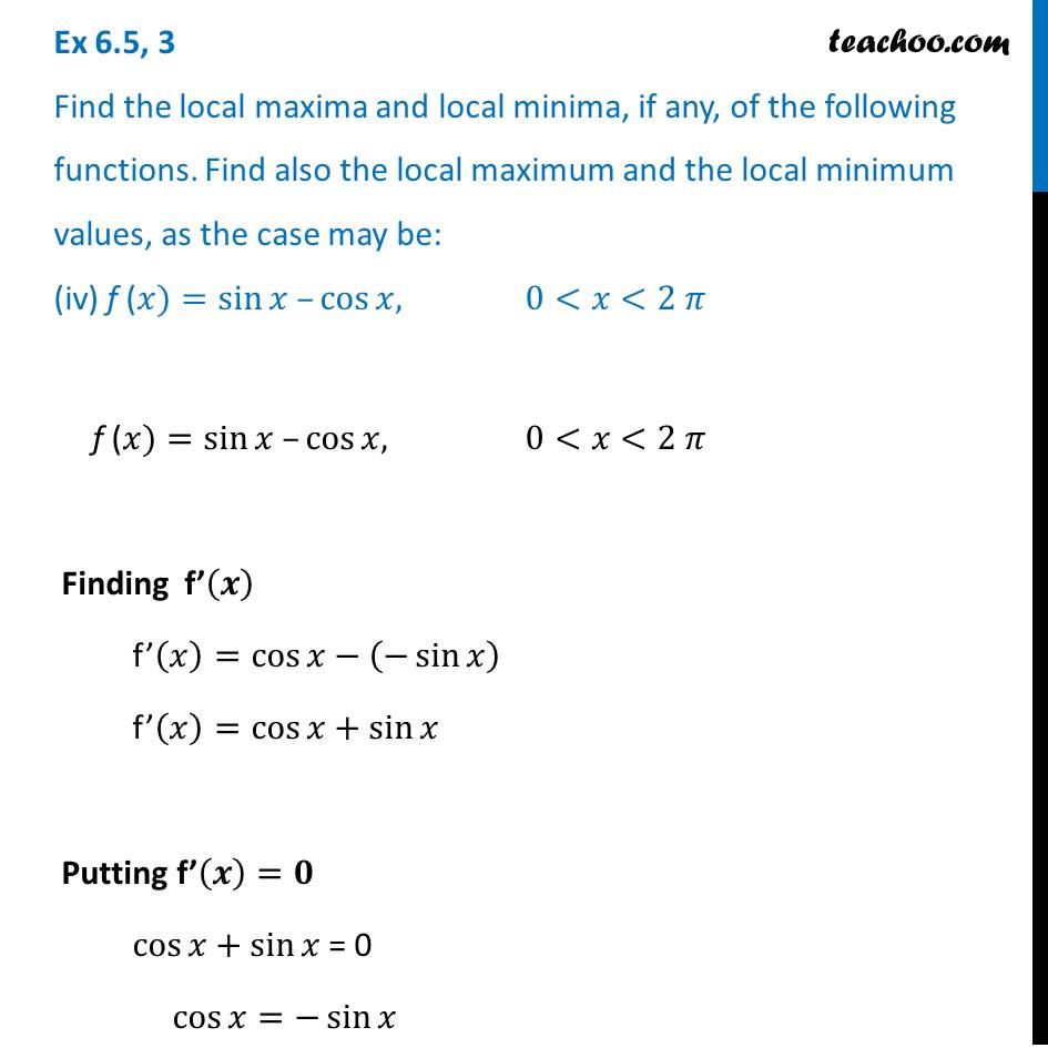 Ex 6.5,3 - Chapter 6 Class 12 Application of Derivatives - Part 10