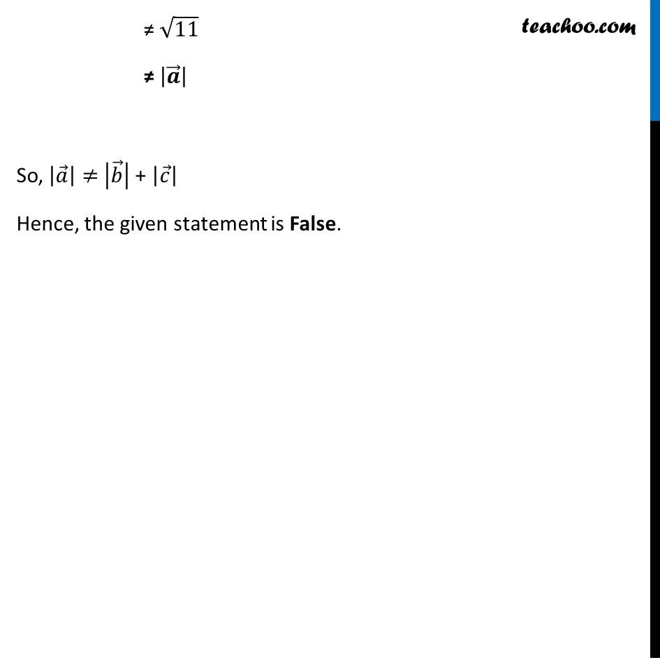 Misc 4 - Chapter 10 Class 12 Vector Algebra - Part 3