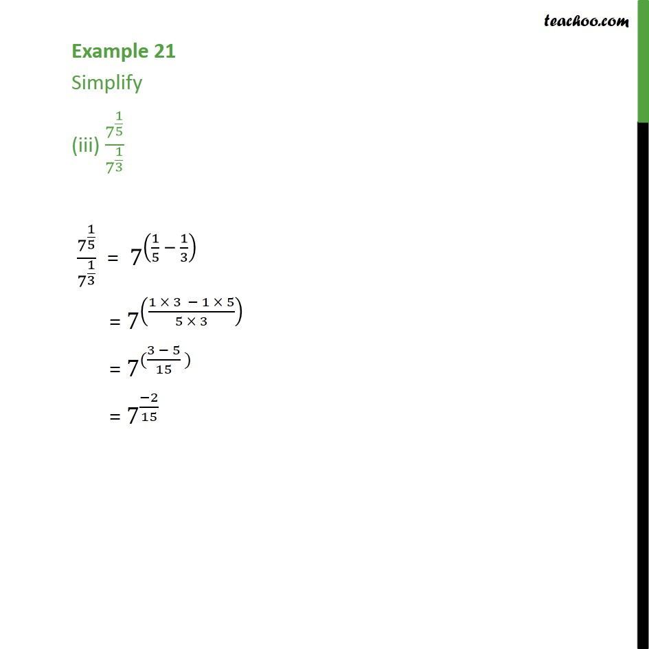 Example 21 - Chapter 1 Class 9 Number Systems - Part 3