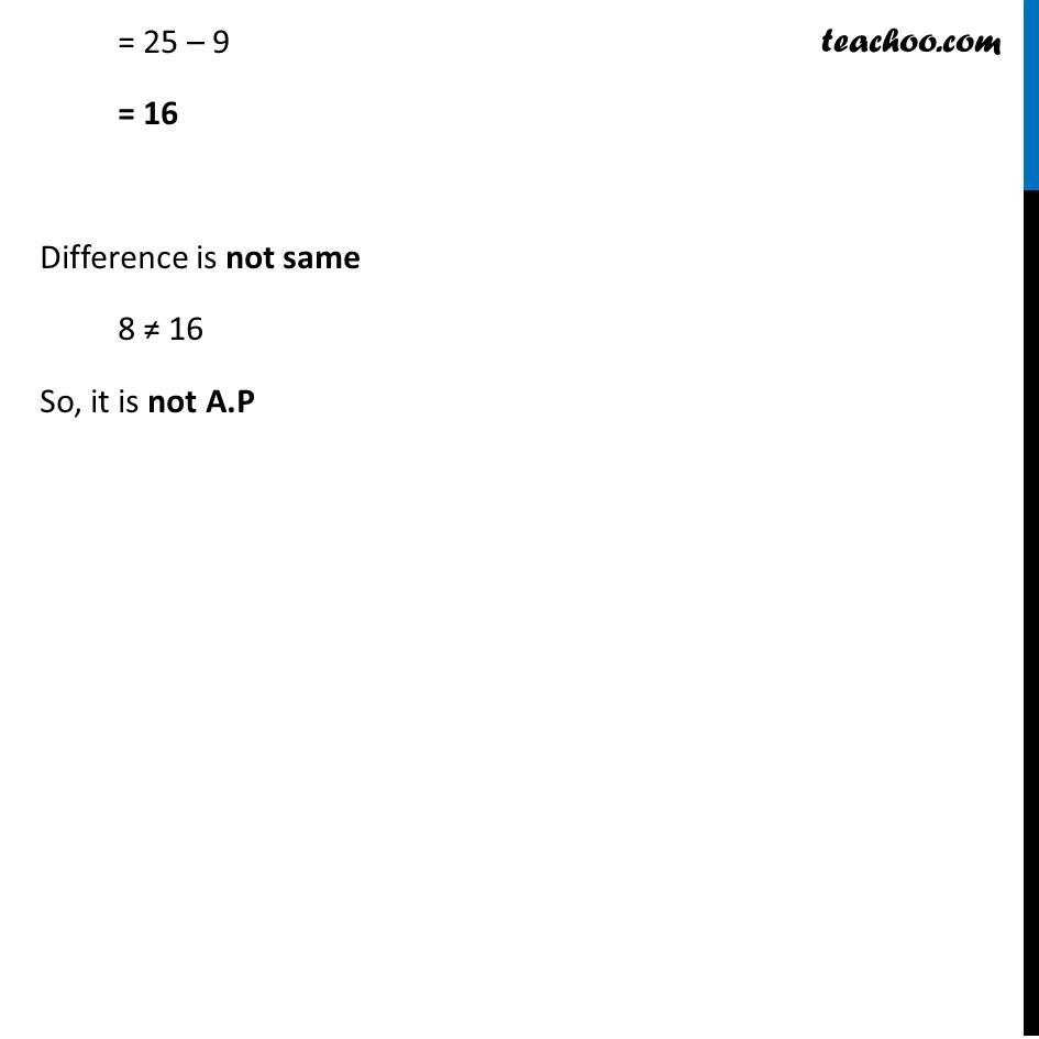 Ex 5.1, 4 (xi) - (xv) - Chapter 5 Class 10 Arithmetic Progressions - Part 10