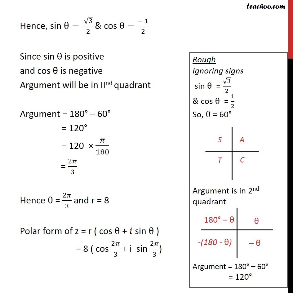Example 8 - Chapter 5 Class 11 Complex Numbers - Part 6