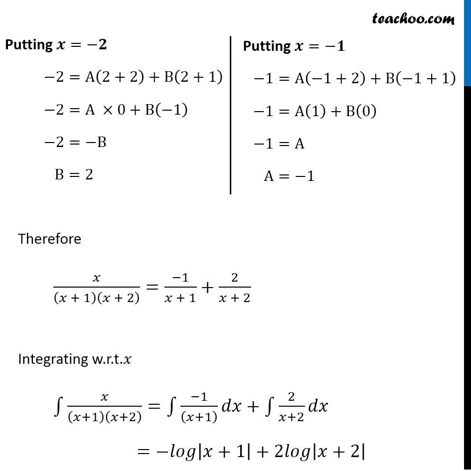 Example 27 - Chapter 7 Class 12 Integrals - Part 8