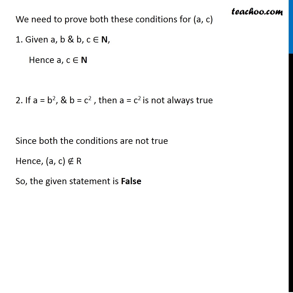 Misc 9 - Chapter 2 Class 11 Relations and Functions - Part 9