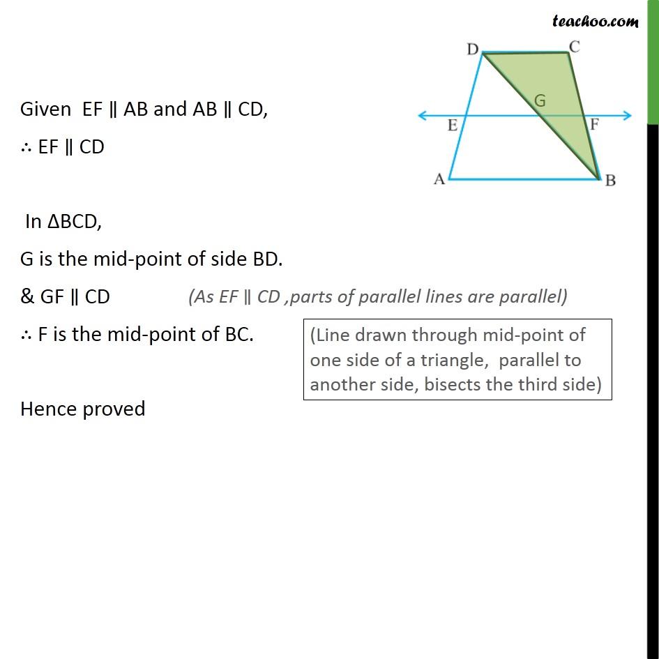 Ex 8.2, 4 - Chapter 8 Class 9 Quadrilaterals - Part 2