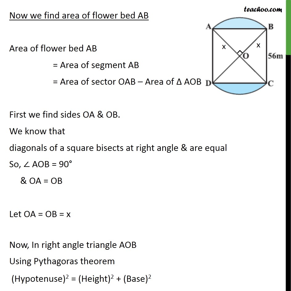 Example 4 - Chapter 12 Class 10 Areas related to Circles - Part 2