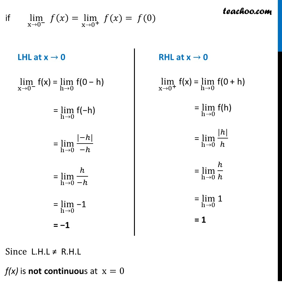 Ex 5.1 ,8 - Chapter 5 Class 12 Continuity and Differentiability - Part 2