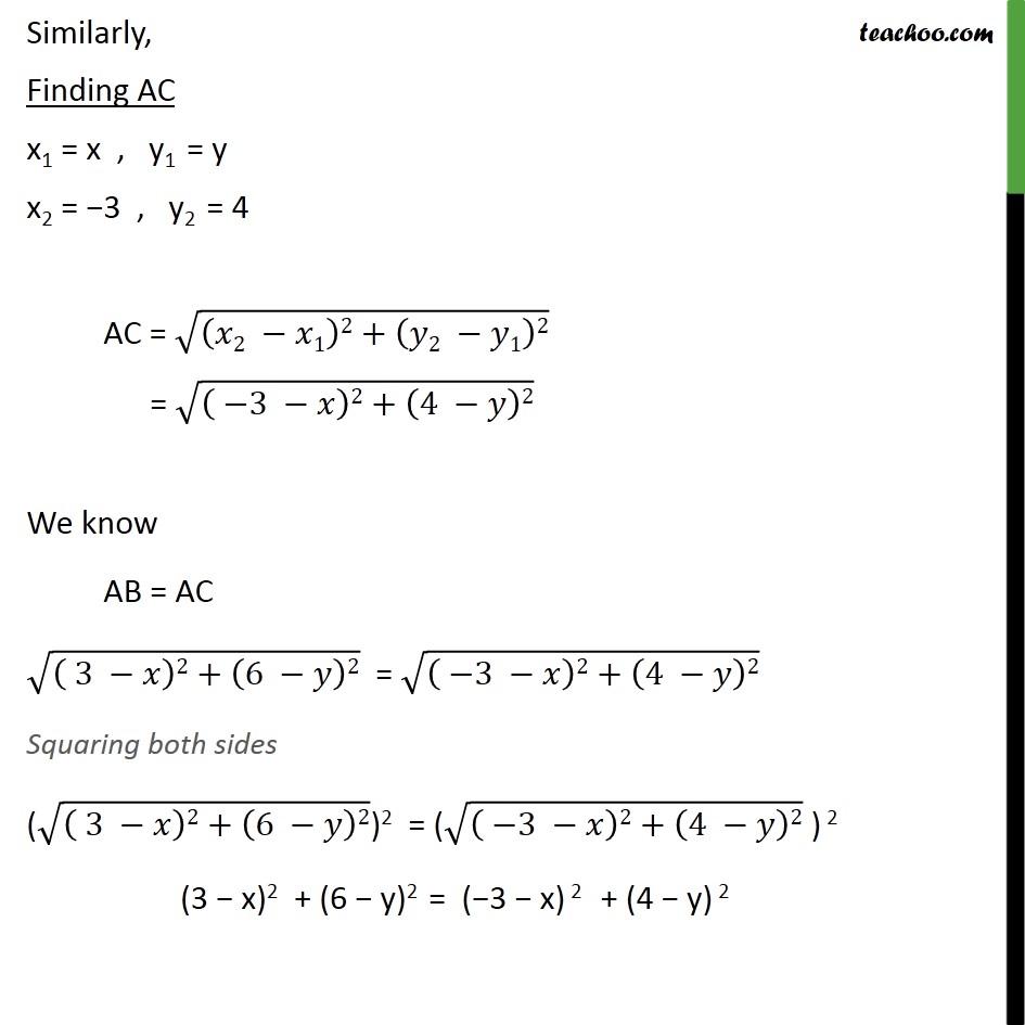 Ex 7.1, 10 - Chapter 7 Class 10 Coordinate Geometry - Part 2