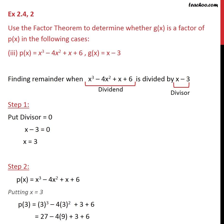 Ex 2.4,2 - Chapter 2 Class 9 Polynomials - Part 5