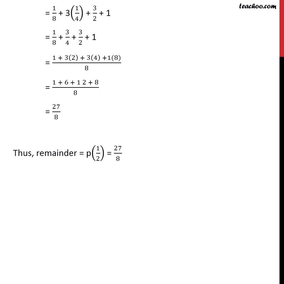 Ex 2.3,1 - Chapter 2 Class 9 Polynomials - Part 4