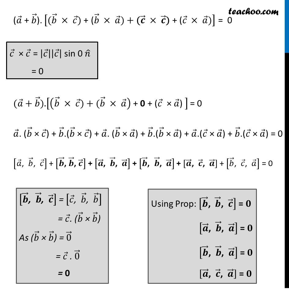 Ex 10.5 , 7 (Supplementary NCERT) - Chapter 10 Class 12 Vector Algebra - Part 2